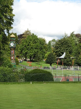 General view of the Borough Gardens